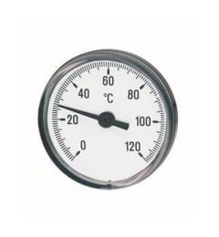 Termometar u MS cauri 0-100 L-150 ravni zivin