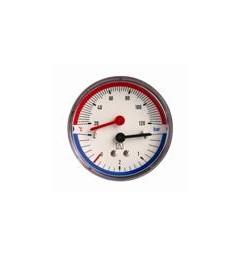 Termomanometar 0-120 C,0-4 bara fi 80 mm aksijalni