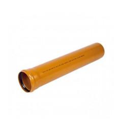 Cev PVC 110/3000 trosl. za spolj.upotrebu oranz Pestan