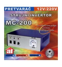 Pretvarac napona sa punjacem akumulatora MC-200