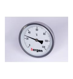 Bergen termometar 0-120 fi 100 mm aksijalni